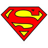 Superman Logo Diecut Vinyl Decal Sticker Comic Colored Batman Marvel Superhero