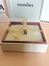 PANDORA Charm, Tendril Clip 790380CCZ, 925 Sterling Silver