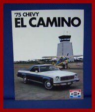 1975 CHEVROLET El Camino Pickup Truck Sales Brochure - New Old Stock