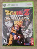 Dragon Ball Z: Burst Limit (Microsoft Xbox 360, 2008) Tested - Free Ship