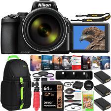 Nikon COOLPIX P950 Compact Digital Camera 83x Optical Zoom Lens 3 Battery Bundle
