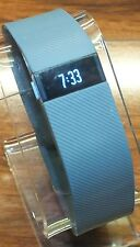 Genuine Fitbit Charge Gray Wireless Activity Tracker Wristband (Size SM) *READ*