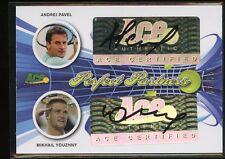 Ace Authentic Signature Tennis DUAL AUTO - ANDREI PAVEL / MIKHAIL YOUZHNY #/35
