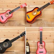 25inch KID's Musical Instruments Xmas Gift children's Simulation Wooden Guitar