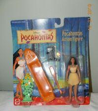 Disney's POCAHONTAS & Meeko Raccoon Action Figure Mattel MOC Sealed