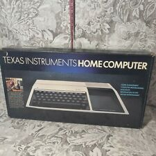 Vintage Texas Instruments TI99/4A Home Computer unopened accessories