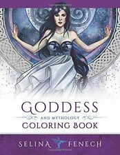 Coloring Book for Adult Goddess and Mythology beautiful Designs Relax Stress