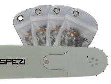 """Schwert + 4 Ketten passend für Partner 710 75cm 3/8"""" 98TG 1,5mm Sägekette chain"""