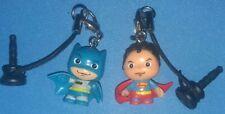 DC Batman And Superman Mini Keychain,Dust Stopper.