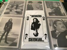 The AVENGERS Television series 1 trading cards (1992) complete set .