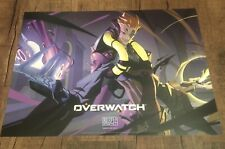 BlizzCon 2017 Overwatch MOIRA Hero Poster Exclusive 20x14