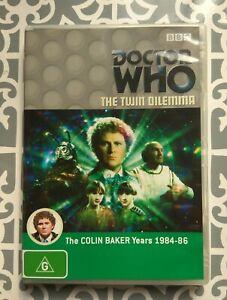 Doctor Who - The Twin Dilemma DVD Region 4