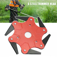 Universal 6 Tooth Cutting Blade Cutter For Strimmer Brush Cutter Trimmer Garden