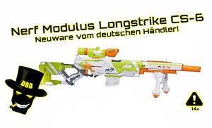 NERF Longstrike Modulus CS-6 - Neuware vom deutschen Händler - wie Longshot