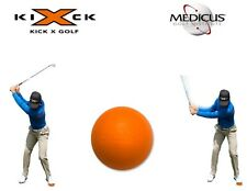 Medicus Kick X Pure Strike Team Crush It Golf Trainer Orange Swing Driver Aid