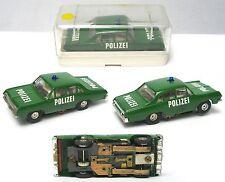1960s Faller Germany OPEL DIPLOMAT POLIZEI POLICE HO Slot Car VeRy RaRe Boxed