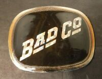 Vintage Pacific Mfg. 1976 Bad Company Belt Buckle Rock Band Bad Company