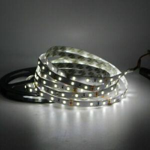 5M 5050 Flexible White LED Strip Light 300LEDs Non-Waterproof tape ribbon lamp