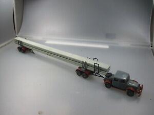 Kibri / Preiser : Cullemeyr Semi-Remorque Avec Bois Long, Conversion (SSK58)
