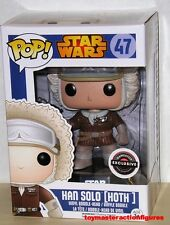 FUNKO 2015 POP STAR WARS HAN SOLO #47 (HOTH) Game Stop Exclusive MIMB In Stock