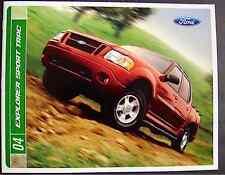 FORD Explorer Sport Trac 2004 Dealership Brochure including ADRENALIN