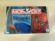 Monopoly Spider-Man Edition Board Game Parker Brothers 100% COMPLETE