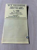 M.V. Products Realistic Light Lenses For Models L 159