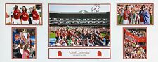 ROBERT PIRES SIGNED ARSENAL INVINCIBLES STORYBOARD FOOTBALL PHOTO PROOF & COA