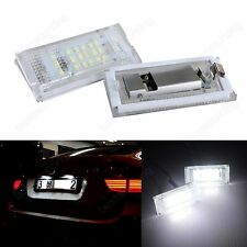 LED SMD Kennzeichenbeleuchtung BMW 3er E46 Limousine Touring Compact 1998-2005