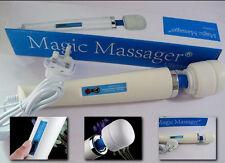 New 30 SPEED Magic Wand Full Body Powerful Massager Hitachi Motor with UK Plug.