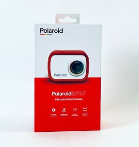 Polaroid iD757 Lifestyle Sport Action HD Recording Waterproof Camera - Red