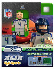 Steve Hauschka OYO NFL 2015 NFC CHAMPS SUPER BOWL XLIX 49 SEATTLE SEAHAWKS NEW
