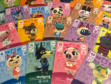 Animal crossing Amiibo Cards - Series 3 - Choose your Villager ! (US version)