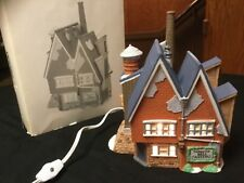 """Heritage Village Collection """"Yankee Jud Bell Casting"""" House New England Village"""