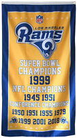Los Angeles Rams NFL Super Bowl Championship Flag 3x5 ft Sports Banner US Seller