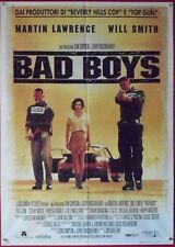 BAD BOYS Will Smith TEA LEONI, PANTOLIANO, MANIFESTO POSTER AUTO CAR PORSCHE