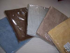 """Bean Bag Cover Blue Gray Beige Covers 17"""" NEW Corduroy Company Store"""