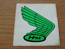 GREEN HONDA HM WINGS RIGHT HAND DECAL ALL CLASSIC MODELS