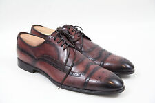 =Dolce & Gabbana Burnished Wingtip Oxford Shoes Size 9 / USA size 10  $695