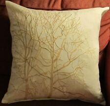 Craft Home Decorative Cushion Cover Pillow Case Embroidered With Tree