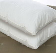 Luxury 100% White Hungarian Goose Down Bed Pillows Brand New Pillow Pair