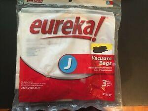 Eureka Upright Style J Bags, 3 pack New