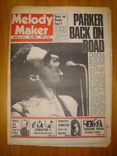 MELODY MAKER 1978 MAR 18 GRAHAM PARKER XTC GENERATION X