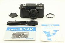 [Near Mint+] Konica Hexar Af 35mm Rangefinder Film Camera Black From Japan #365