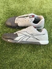 reebok nano 4, U.K. Size 8.5 Come Without Laces. Black And Grey