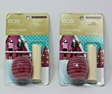 EOS Cranberry Pear Sphere & Vanilla Bean Organic Stick Limited Edition Lip Balm