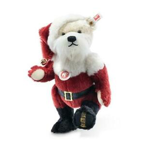Santa Christmas Teddy Bear Musical by Steiff - EAN 006029