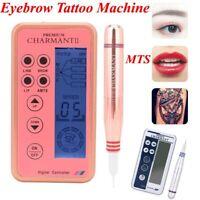 Pro Tattoo Eyebrow Makeup Machine Kit Lip Eye liner Microblading Needle Pen