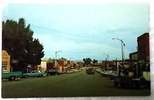 Postcard Street Scene Business Main Gillette Wyoming #56