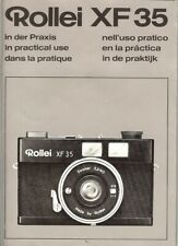 Instruction User's Manual Rollei XF35 ''in practical use'' German/English